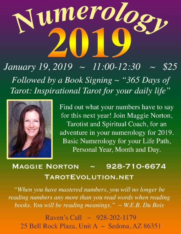 Numerology – January 19, 2019 | Raven's Call - Spiritual and