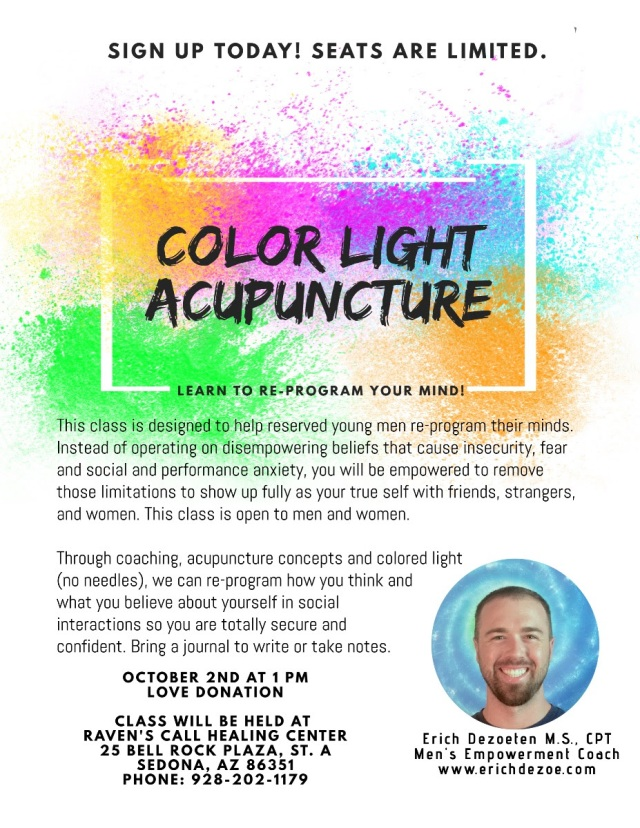 2021-10-02 Color Light Acupuncture