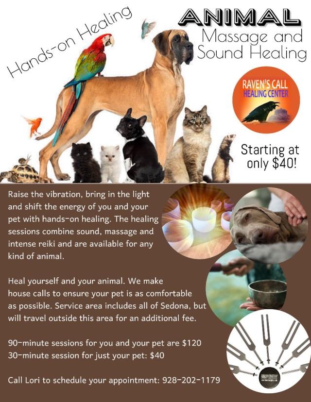 Animal Massage and Sound Healing